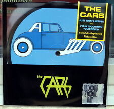 """THE CARS JUST WHAT I NEEDED VINILE 7"""" PICTURE DISC RSD 2016 NUOVO SIGILLATO"""