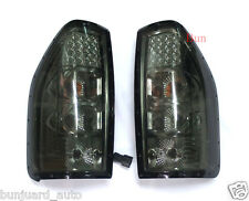 SMOKED LED REAR TAIL LIGHT LAMP FOR ISUZU DMAX HOLDEN RODEO DENVER 2003-2006