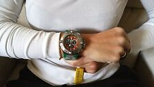 Invicta PuPPY L.E. 10977 Subaqua Noma IV Swiss Chrono Men's Watch Orange Face