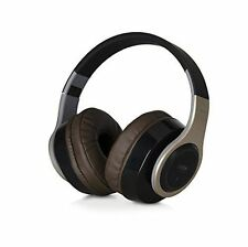 TDK WR780 Wireless Bluetooth Over Head Headphones for Smartphones - Gold / Brown