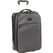 J World New York Ray Business Rolling Backpack - Black