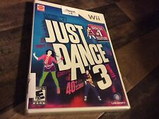 Just Dance 3 (Nintendo Wii, 2011) New Sealed Free US Shipping