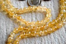 Solar Plexus, Third Chakra, 108 Citrine Mala Beads for Self Esteem, health, Stro