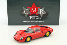 Ferrari Dino 206 S Plain Body Version année 1966 rouge 1:18 CMR