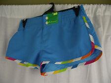 BNWT Ladies Sz 10 Target Brand Aqua Blue Short Style Board Shorts/Swim Shorts