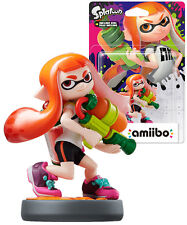 Amiibo Splatoon Girl Nintendo Wii U 3DS