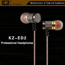 Cuffie Premium kz-ed2 PROFESSIONAL IN-EAR IN PU Custodia robusta FULL BASS BEATS