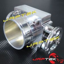 NEW 80mm Universal Throttle Body & Plenum Flange For Nissan Skyline RB25 R33 R34