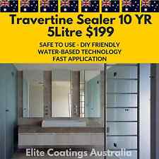 Travertine Tile Sealer  - 10 Year Stain Protection - 5Litre