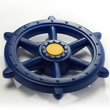 Swing Slide Climb PLAY PIRATE STEERING WHEEL+Fixings,Ship Style BLUE *AUST Brand