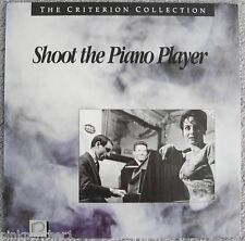 SHOOT the PIANO PLAYER  Francois Truffaut Criterion 43 French/ English Laserdisc
