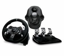 Force G920 Xbox One Logitech Driving PC Racing Rueda, Pedales + Paquete de Gearstick