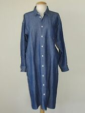 ** JUNYA WATANABE Comme des Garcons ** NWT 2016 Sz M Chambray Shirt Dress