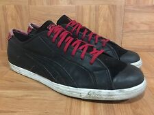 RARE�� Asics Onitsuka Tiger Coolidge Lo Half Shell Black Leather Retro Shoes 12