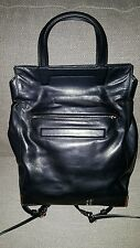 Alexander Wang Black Prisma Skeletal Fold Over Bag Handbag / Backpack