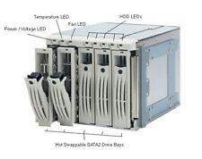 """Enlight EN-8721 3.5"""" SCSI SCA2 5 Bay gabinete de unidad de jaula de intercambio en caliente alta calidad"""