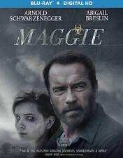Maggie [Blu-ray], Excellent DVD, Schwarzenegger, Arnold,