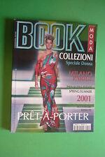 Collezioni Fashion BOOK MODA n.51 SPRING-SUMMER 2001 MILANO PARIGI