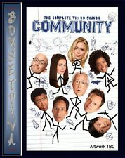 COMMUNITY - COMPLETE SEASON 3 - SERIES 3 *BRAND NEW DVD*