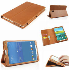 "Premium 100%Genuine Leather Case Cover For Samsung Galaxy TAB S 8.4"" T700 T705"
