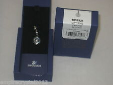 Swarovski Clear Crystal Ring Bead Charm (NEW)