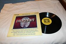 DRAGNET-THE STORY OF YOUR POLICE IN ACTION-2 COMPLETE  PROGRAM- LP