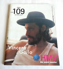 VINCENT GALLO HMV JAPAN FREE MAGAZINE 2001 Kylie Minogue The Corrs Ian Brown