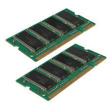 1GB (2x512MB) DDR-333 PC2700 (SODIMM) Memory RAM KIT 200-Pin for Laptop Notebook