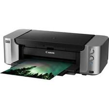NEW CANON PIXMA PRO-100 PHOTO INKJET PRINTER w/ INK AND PRINTHEAD + PHOTO PAPER