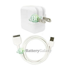 USB Battery Home Wall AC Charger+Cable Cord for TAB TABLET Apple iPad 1 1st GEN