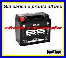 Batteria BS SLA Gel PIAGGIO VESPA GTS 300 12 13 carica pronta all'uso 2012 2013