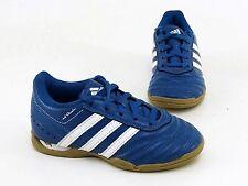 Adidas Freizeit Schnürer Halbschuhe Sportschuhe Indoor Synthetik blau Gr.10 = 28