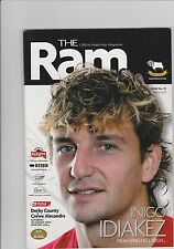 Derby County v Crewe Programme 28-08-2004