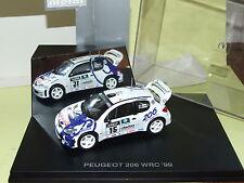 PEUGEOT 206 WRC 1999 F. DELECOUR REVELL 1/43