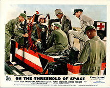 ON THE THRESHOLD OF SPACE ORIGINAL LOBBY CARD GUY MADISON 1956