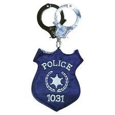 Police Badge Handcuffs Purse Costume Accessory