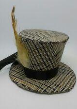 Cashmere Steampunk Mini top Hat (small)