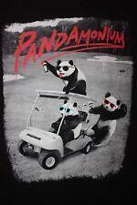 Pandamonium Panda Golf T-Shirt