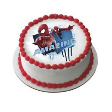 The Amazing Spiderman Edible Cake Decoration ~ Package of 6, Lucks Edible Images