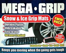 Car Mega Grip Snow and Ice Traction Grip Mats