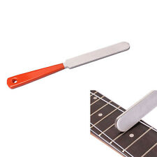 Guitar Fret Crowning Luthier File Stainless Steel Dual Cutting Edge Tool
