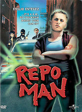 REPO MAN DVD  OUT OF PRINT LN A CULT CLASSIC !!