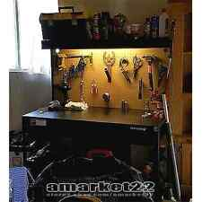 Multi Purpose Workbench with Work Light Drawer Storage Heavy DutySteel NEW