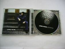 LIONEL RICHIE - JUST FOR YOU - CD 14 TRACKS EXCELLENT CONDITION 2004 - L.KRAVITZ