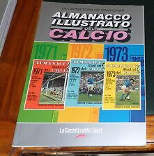 ALMANACCO ILLUSTRATO del CALCIO PANINI 1971 1972 1973 *ottime condizioni*