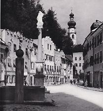 Bruneck in Südtirol - Brunico Alto Adige - Straßenansicht um 1950