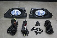 05-06 Acura RSX DC5 DC Type S Base JDM Clear Fog Light Kit + Harness + Switch
