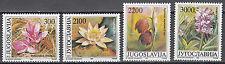 Jugoslawien / Jugoslavija 2333-2336** Blumen aus der Vojvodina