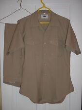 SALE: U.S.Navy Uniform Set, Khaki, Abbott,ML shirt,33 X 32 pants,EUC