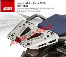 PORTAPACCHI GIVI  HONDA CRF1000L Africa Twin 2016 PORTAVALIGIA SR1144 + M8A ALLU
